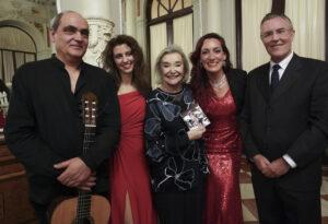 Cántica y Nuria Espert · Concierto Salon Espejos Ayuntamiento Málaga 17-2-2020