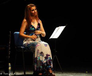Inma Gómez, castañuelas, en el concierto de Las Musas