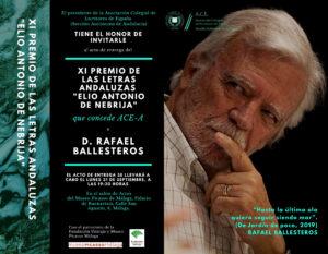 Concierto de La Reverie en el homenaje al poeta malagueño Rafael Ballesteros